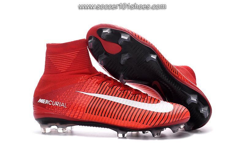 various colors 45eb8 9e61a Nike Men s Mercurial Superfly V FG Football Boot Hi Top Soccer Cleats Red   76.00