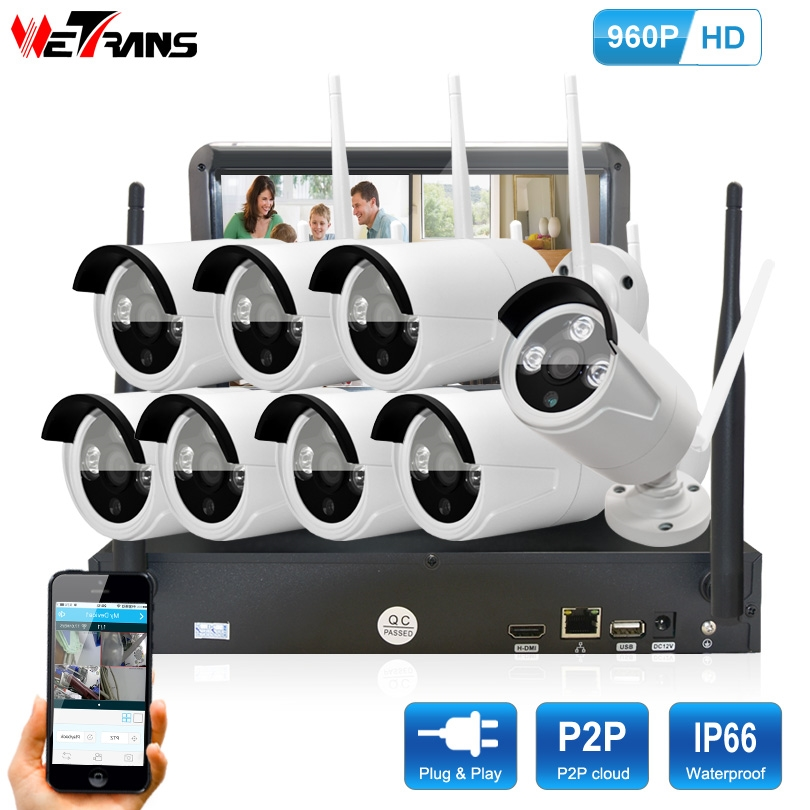 550.00$ Know more - Home Surveillance System Wifi 8CH NVR 10.1 ...