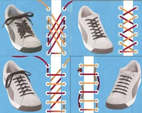 c49bd0853d8fc9 Diferentes tipos de amarrar las agujetas de tus tenis | life ...