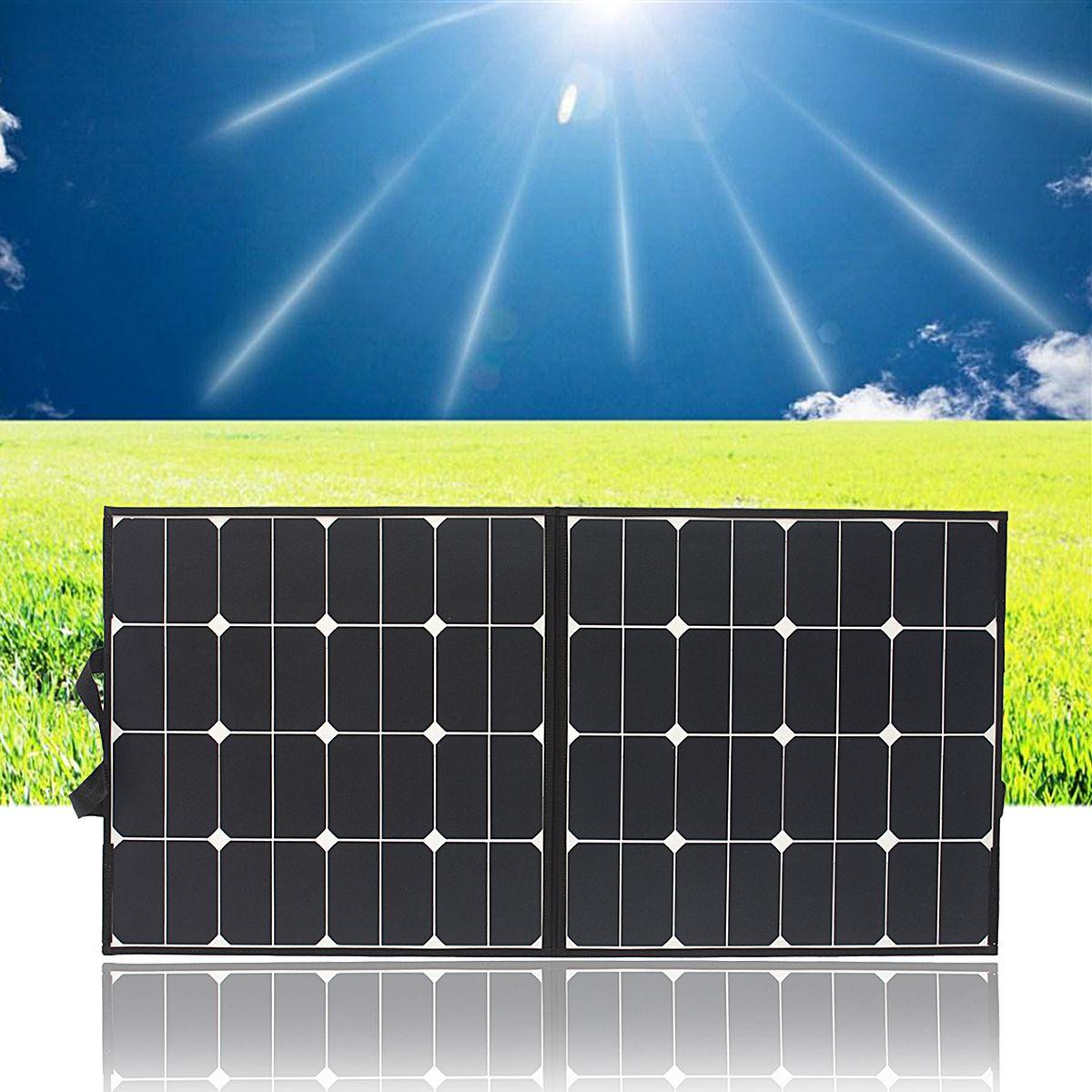 1pcs Elfeland Sp 4 100w 18v Flexible Solar Panel Solar Monocristalino Waterproof Folding Panel Solar Panels Solar Solar Power