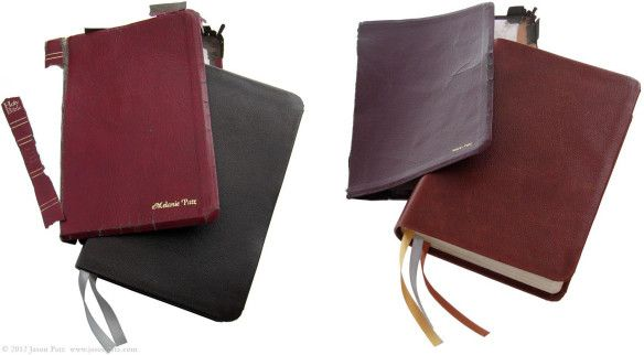 How to replace bible cover with new leather cover | Renew, Restore