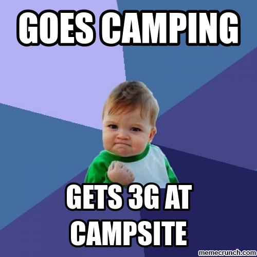Camping Memes Camping May 27 23 00 Utc 2012 Pinterest Humor Success Kid Kid Memes