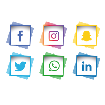 Social Media Icons Png Vector Psd And Clipart With Transparent Background For Free Download Pngtree Social Media Icons Media Icon Instagram Logo