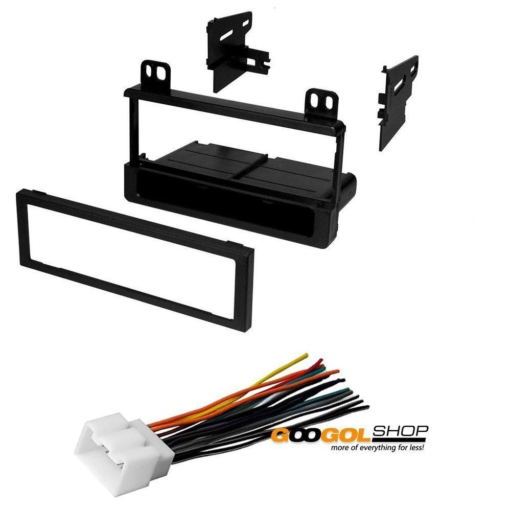 Ford 2001 2004 Mustang Car Stereo Dash Install Mounting Kit Wire Wiring Harness Radio Antenna