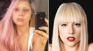 Photo of Lady Gaga – Celebrities Without Makeup