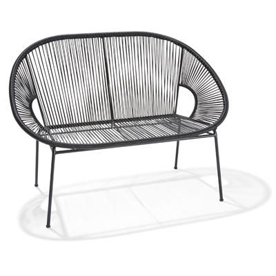 Kmart Acapulco Lounge Black Outdoor Furniture Outdoor