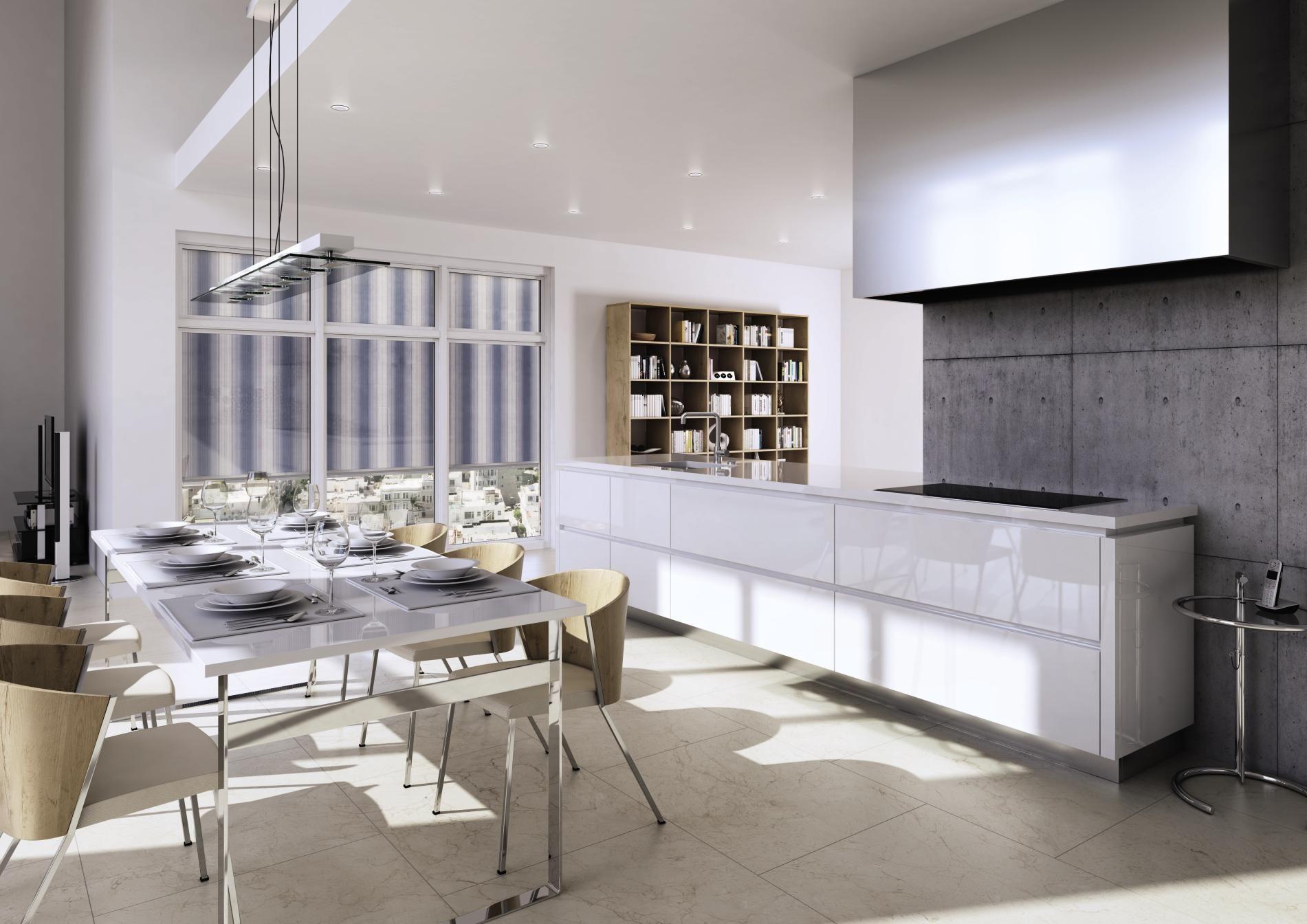 Moderne Küchen werden zum Treffpunkt für ganze Familie