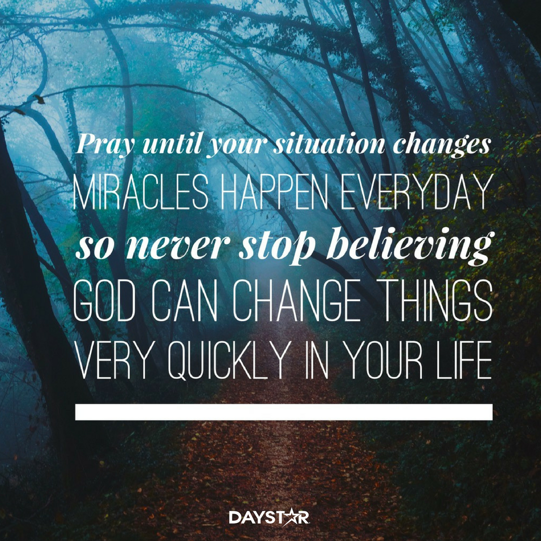 Prayer changes everything Don t be anxious pray instead If God is for us who can be against us