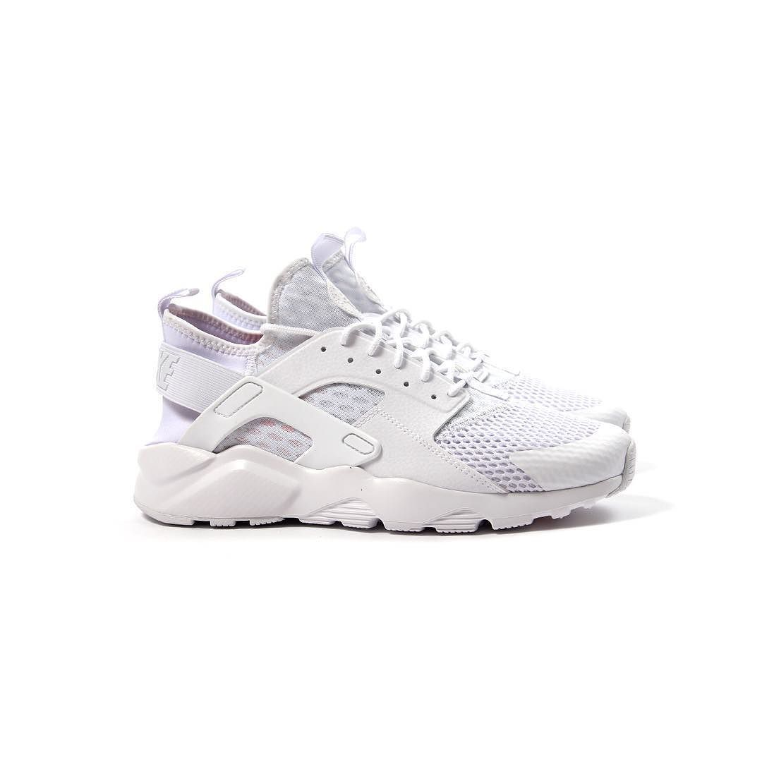 ... 034de a0342 Repost The Nike Huarache Run Ultra Breeze in Triple White  is now available amazing ... ad4bc44e01d1
