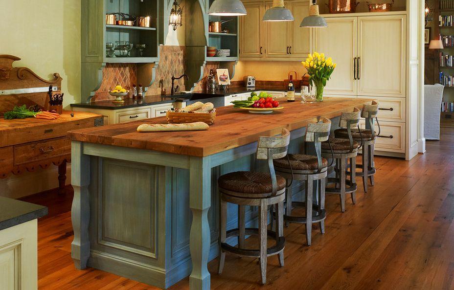 Beautiful kitchen island   gmindy/6898/rustic-country