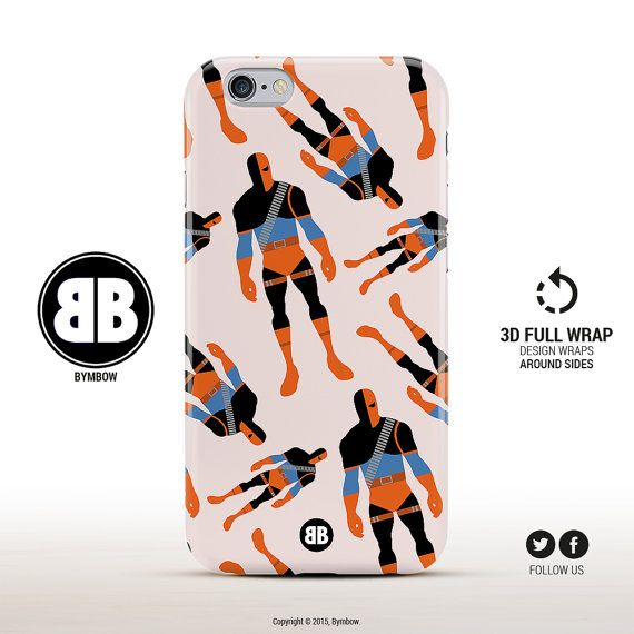 Deathstroke Phone Case Marvel iPhone Case Comics iPhone by BYMBOW
