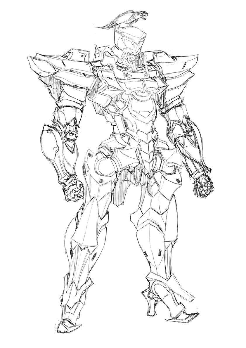 Pin By Suyomaru On Robot Suit Skin Drawings Robot