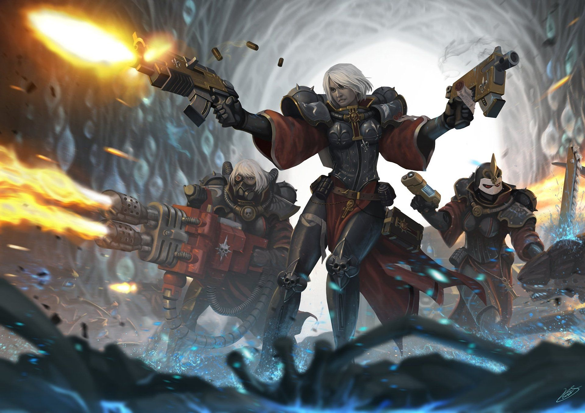 Pin By Robert Mcneill On Sci Fi Horror Quotes Etc 2 Warhammer 40k Warhammer 40000 40k Sisters Of Battle