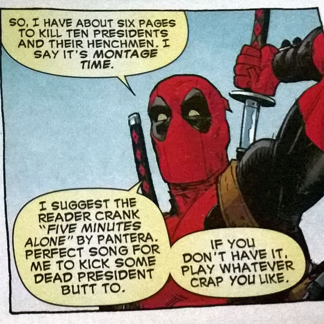 Just Deadpool ! Deadpool quotes MARVEL Pinterest