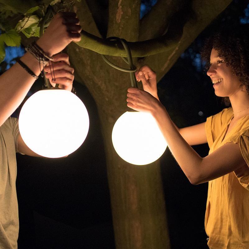 Bolleke Outdoor Hanging Lights Hanging Tree Lights Rechargeable Lamp