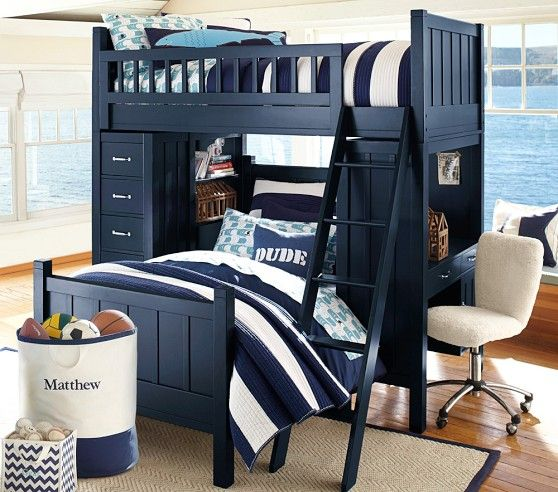 Camp Twin Loft System & Lower Bed Set (con imágenes ...