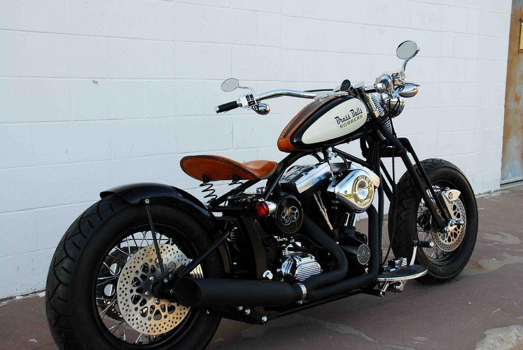 Brass Balls Classic Bobber Bobber, Bobber bikes, Harley