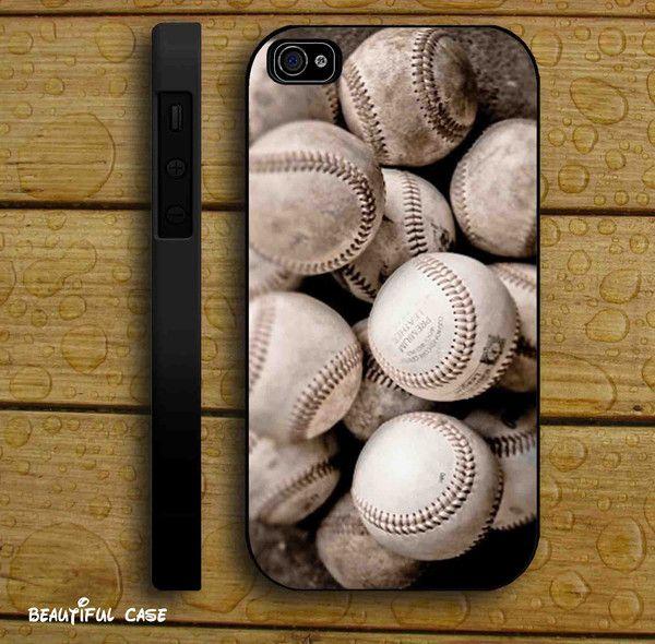 Baseballs Art for iPhone 4/4s/5/5s/5c, Samsung Galaxy s3/s4 case