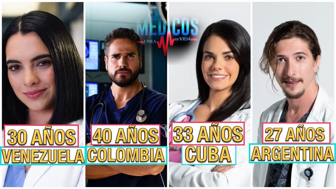 Edades De Los Actores De Medicos Linea De Vida Linea De Vida Medicos Actores