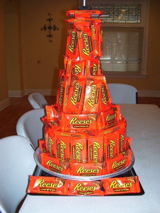 How To Make A Candy Bar Cake Leftover Halloween Bouquet