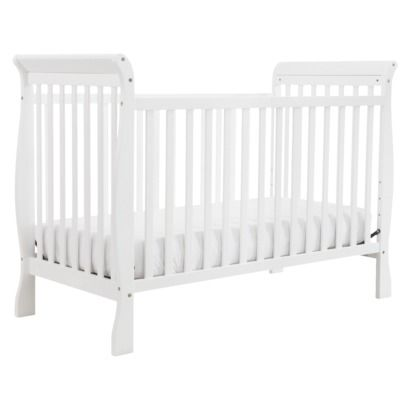 Davinci Jamie 4 In 1 Convertible Crib In White Convertible Crib White Cribs Convertible Crib