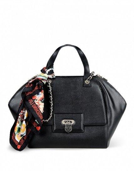 37f10a24e4 Handbag nera - collezione autunno inverno 2014 2015 di borse Love ...