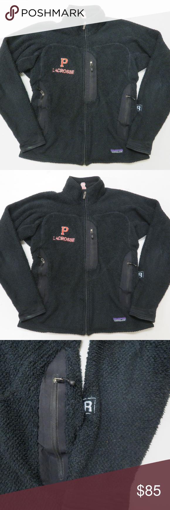 Clothing, Shoes & Accessories Patagonia Regulator R2 Fleece Vest Mens Medium Black Coats & Jackets