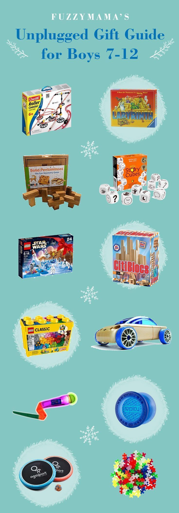 Unplugged Gift Ideas For Boys Ages 7 To 12 Bedtime