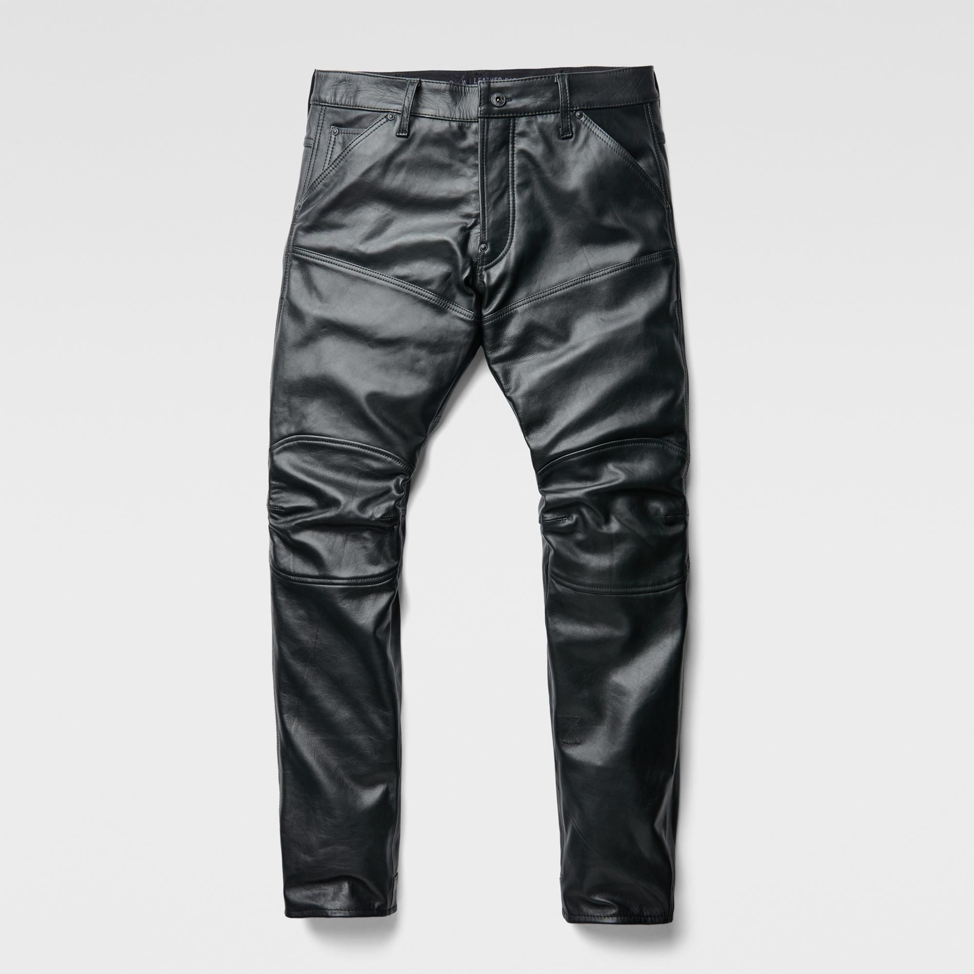 Leather 5620 3D Slim Pants | Pantalon cuir, Pantalon homme