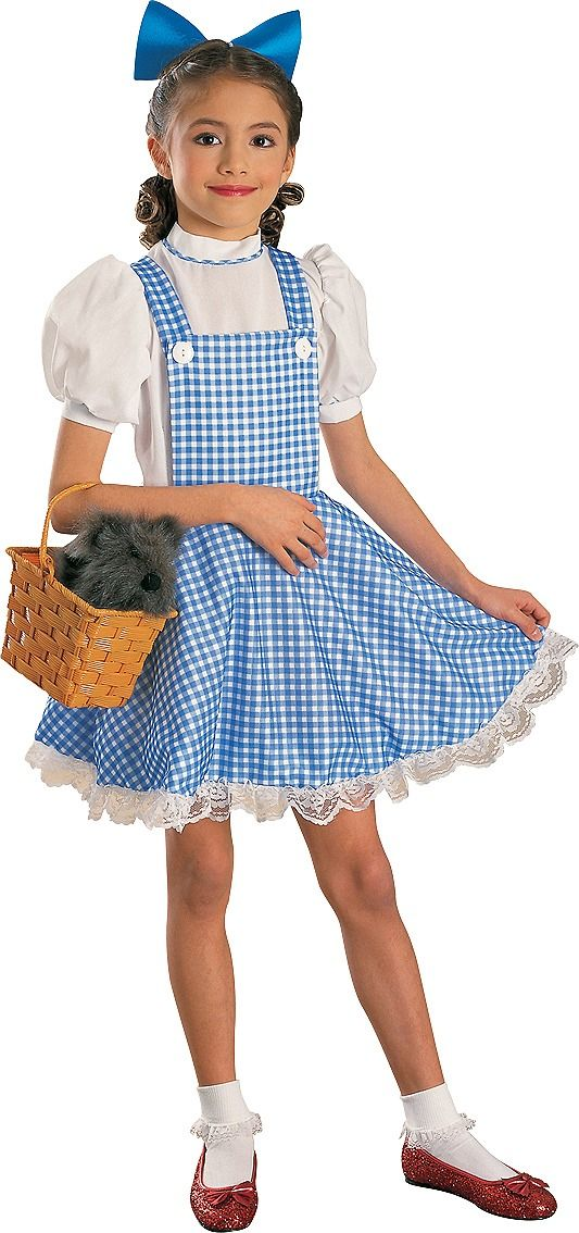 Girls Dorothy Costume All Hallows Eve Costumes Halloween