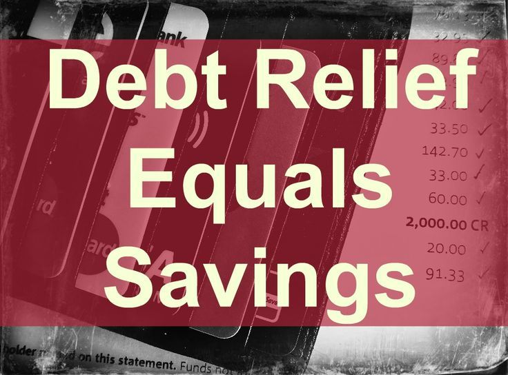Debt relief savings credit card companies do agree to