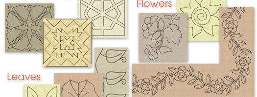 10% off Printable Quilting Designs from The Quiltmakers Collection Vol 5