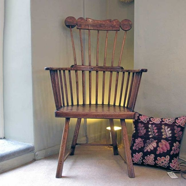 Mickey Mouse Armchair Uk Folding Director Chair A Welsh Stick-back Of Great Character Made In The Swansea Area During Late 18th Or ...