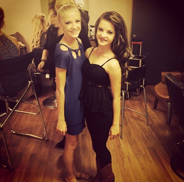 Paige and Brook lookin beyond gorgeous in this picture!