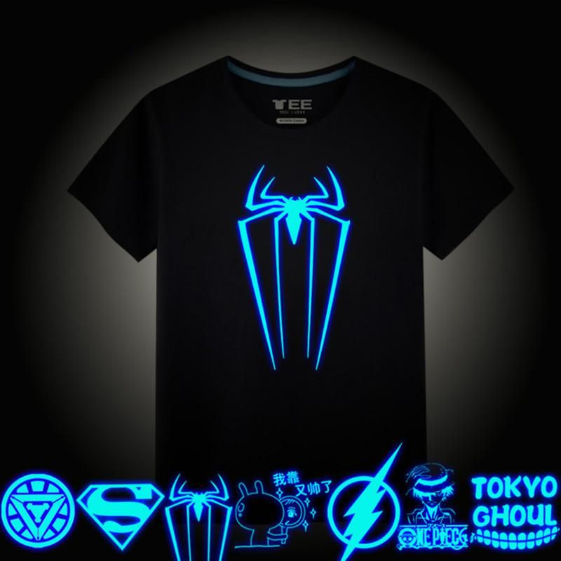 Short Sleeves T-Shirts For Boys Girls Superman Batman T Shirt Kids Christmas