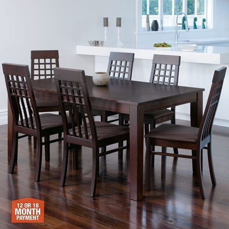 Charlston Dining Table & 6 Chairs  Dinning Room  Pinterest New Dining Room Chairs Online Inspiration Design