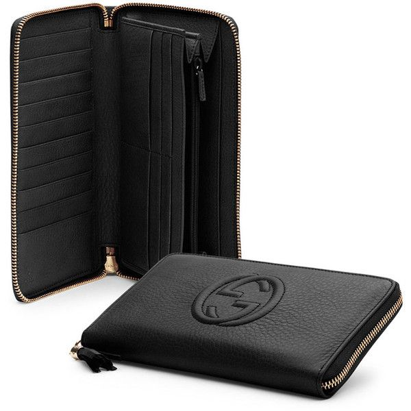 6cde3850ca9 Gucci Soho Leather Travel Zip Around Wallet (10