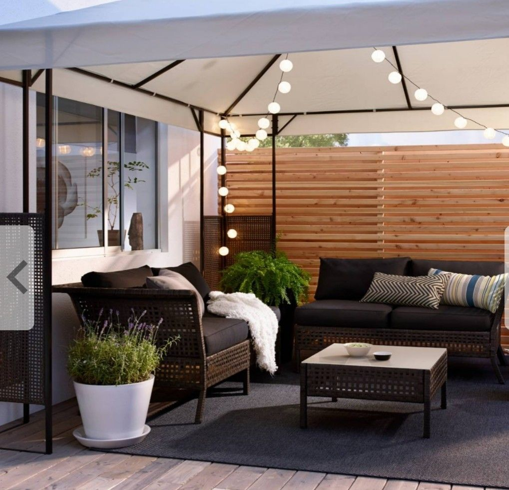 Australia Ikea outdoor, Backyard patio, Outdoor rooms