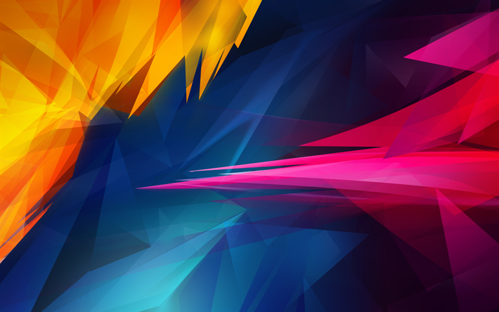Download Wallpapers Geometric Shapes 3d Art Creative Artwork Geometric Figures Geometry Besthqwallpapers Com Abstract Wallpaper Backgrounds Abstract Abstract Wallpaper