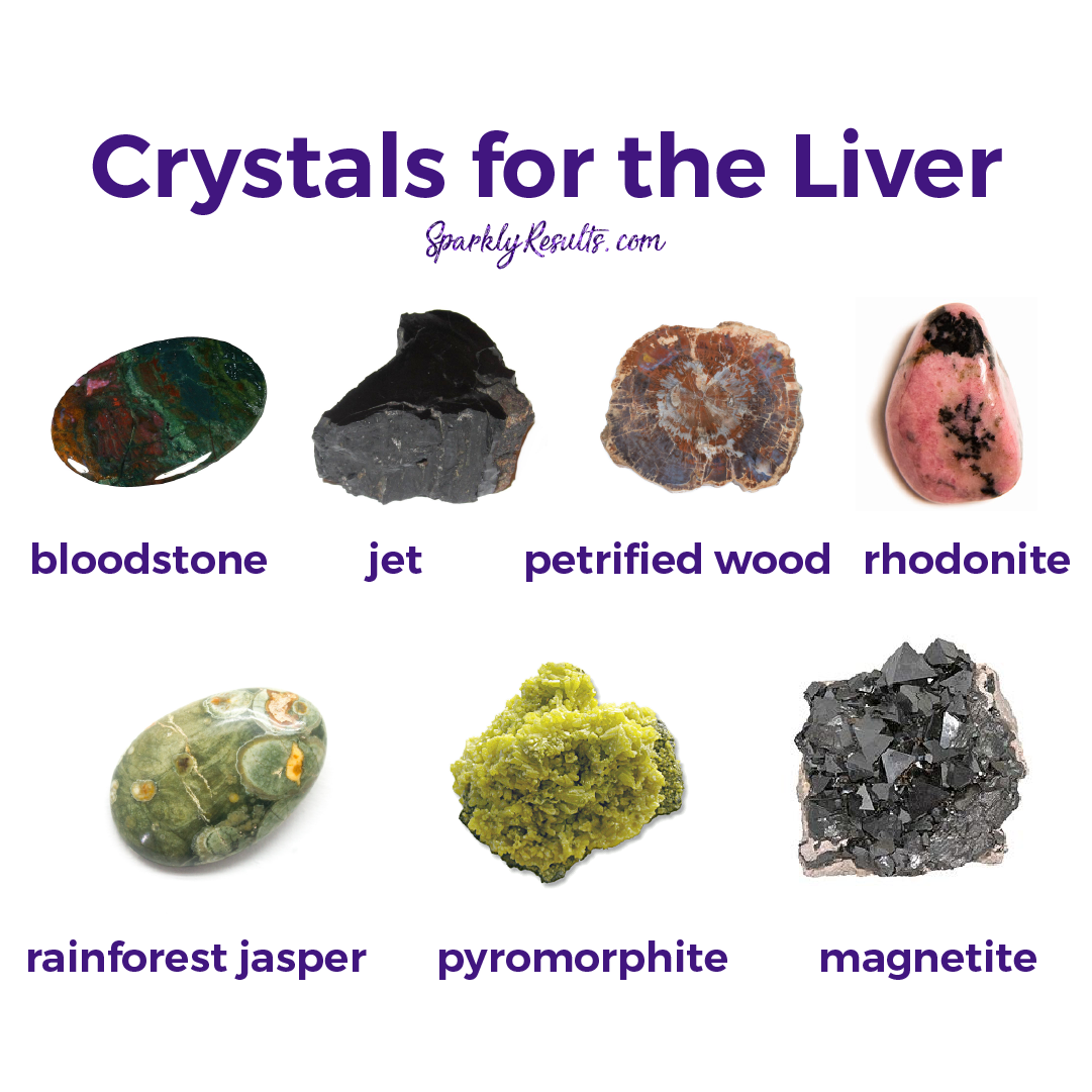 Crystals for the liver | Occult | Crystals minerals, Stones