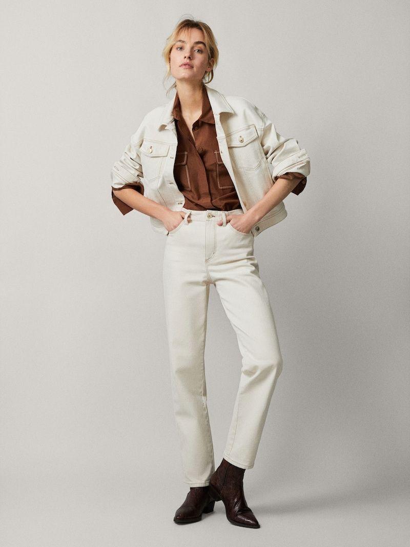 mejor selección 8d7a4 0c576 Pantalones vaqueros de mujer | Massimo Dutti Primavera ...