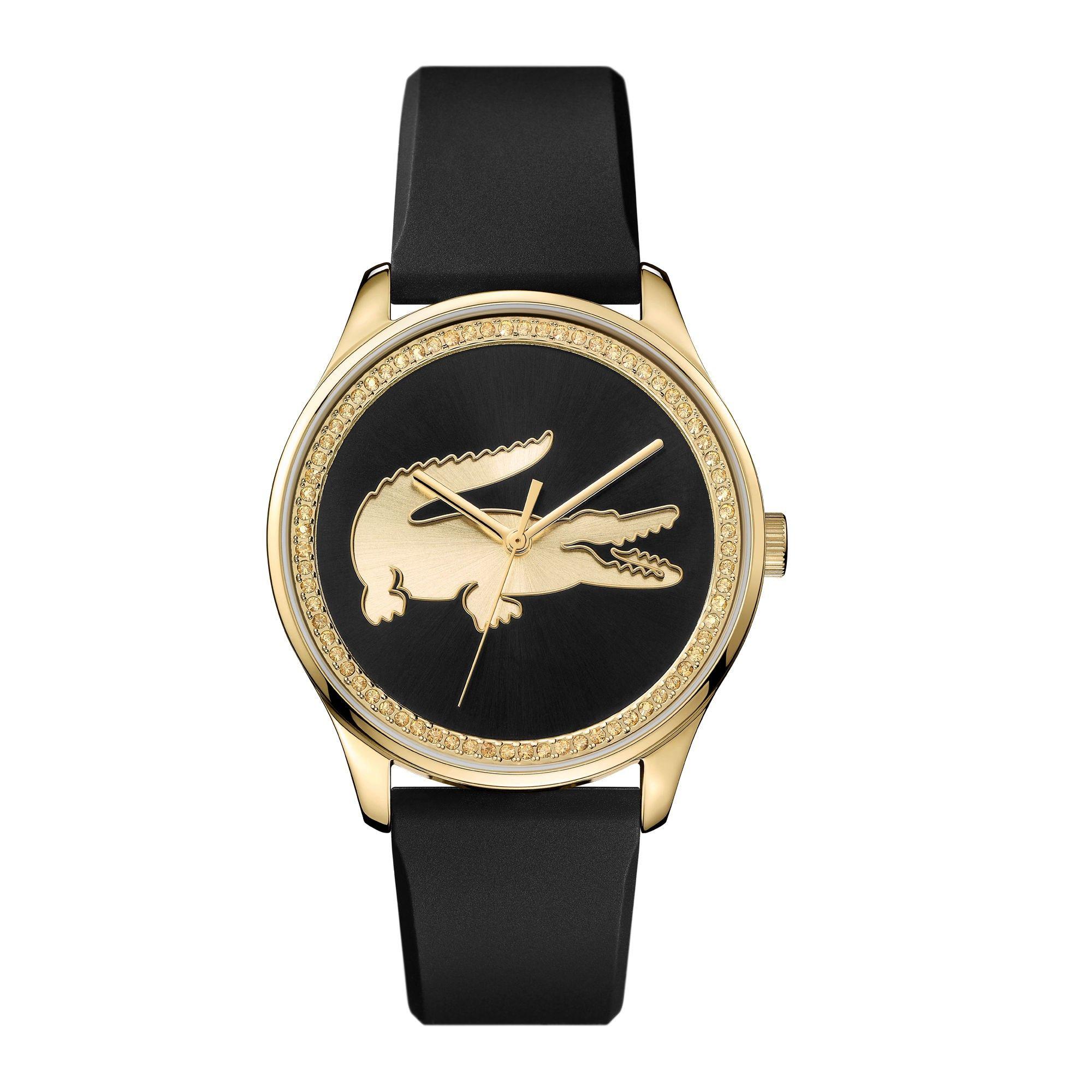 b55c5afc568 LACOSTE Women S Victoria Black Silicone Strap Watch - 000000.  lacoste  all