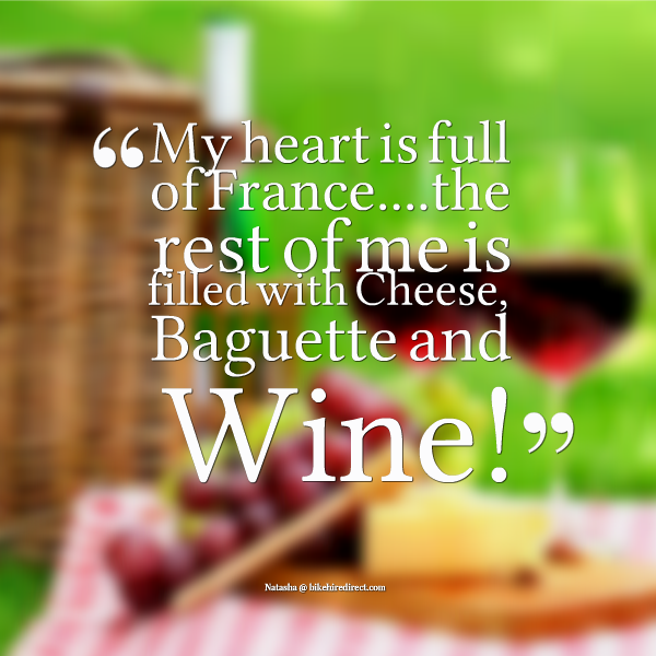I love #France and #French #food... especially #cheese & #wine!  #frenchfood #charente #dordogne #vienne #baguette  #bikehiredirect www.bikehiredirect.com