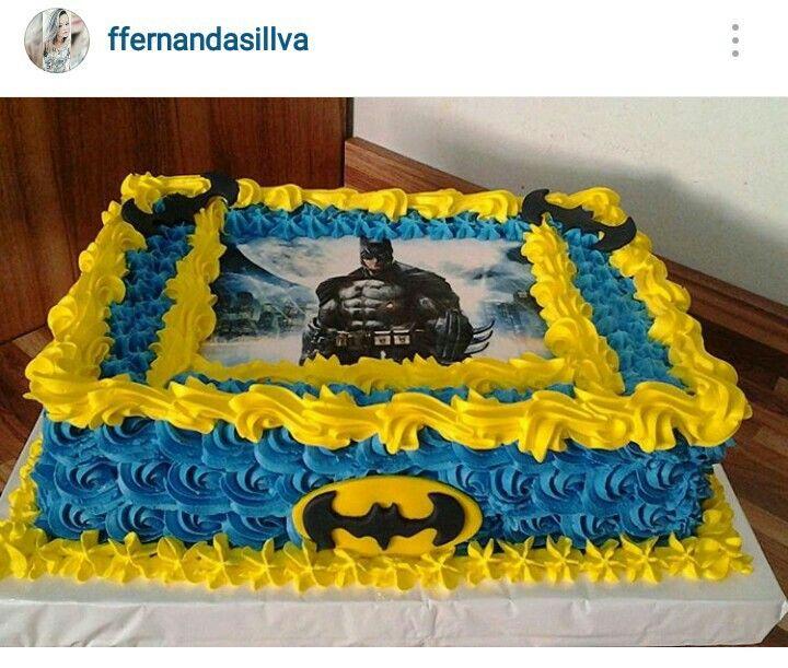 Pin De Elda Alvarado Em Super Heroes Cakes Cookies Bolo De