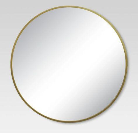 Round Decorative Wall Mirror Brass - Project 62? | Mirror ...