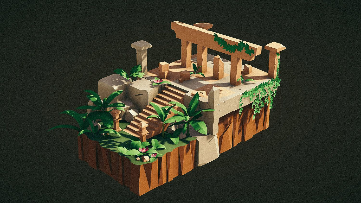 The Lost Lands is a high quality modular stylized art