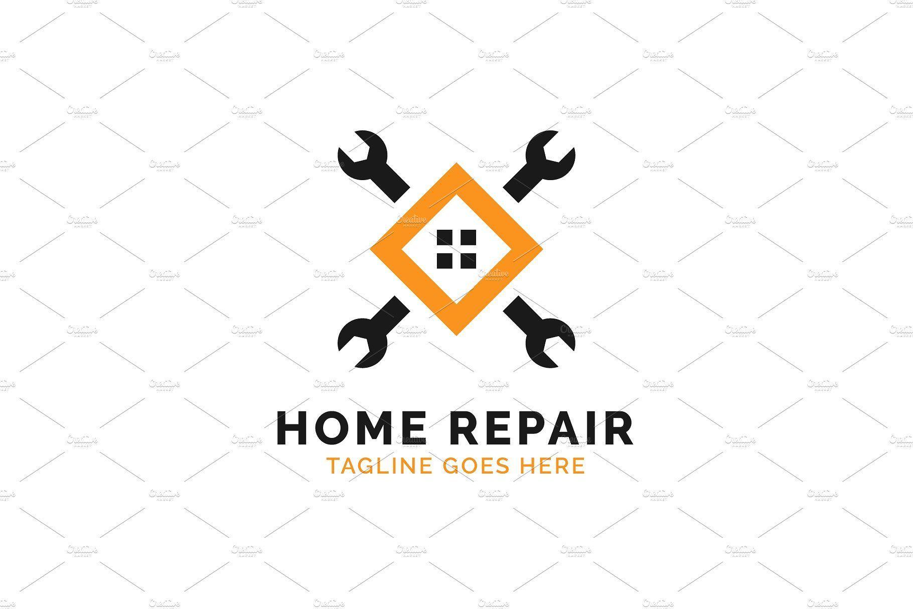 Exclusive Logo 25097 House Repair Logo Construction Logo Home Repair Repair