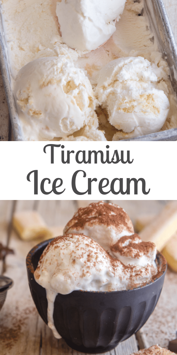 Creamy Easy Tiramisu Gelato