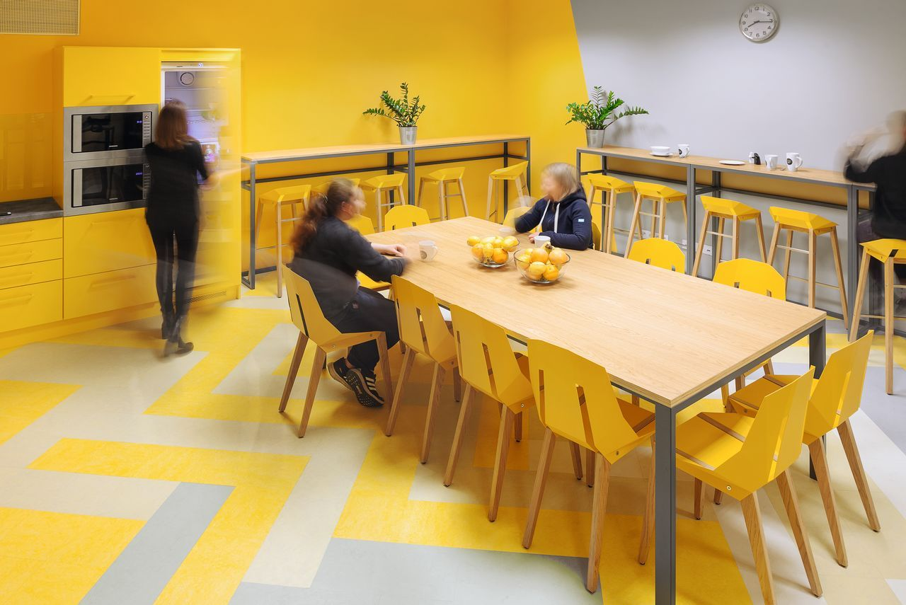 Sustainable linoleum flooring by Forbo Flooring Systems