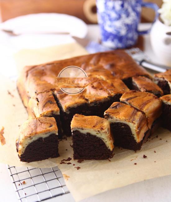 Resep Cream Cheese Brownies Jtt Di 2020 Memanggang Kue Keju Krim Hidangan Penutup